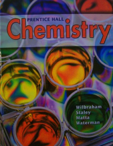 Prentice Hall Chemistry Student Edition 2008c   2008 9780132512107 Front Cover