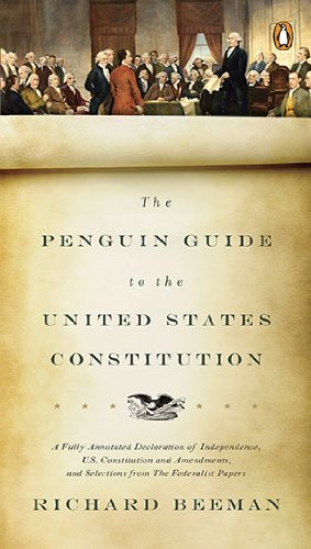 Penguin Guide to the United States Constitution   2010 edition cover