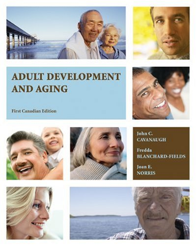 ADULT DEVELOPMENT+AGING 1st edition cover