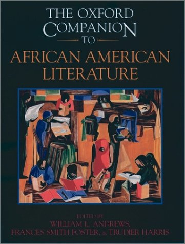 Oxford Companion to African American Literature   1997 9780195065107 Front Cover