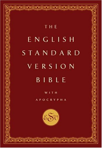 English Standard Version Bible with Apocrypha   2009 edition cover