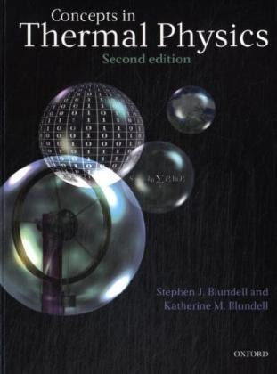 Concepts in Thermal Physics  2nd 2009 edition cover