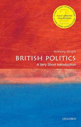 British Politics: a Very Short Introduction  2nd 2013 edition cover