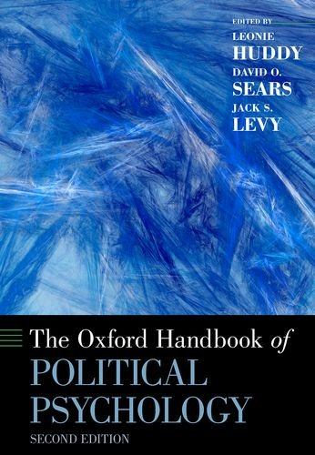 Oxford Handbook of Political Psychology  2nd edition cover