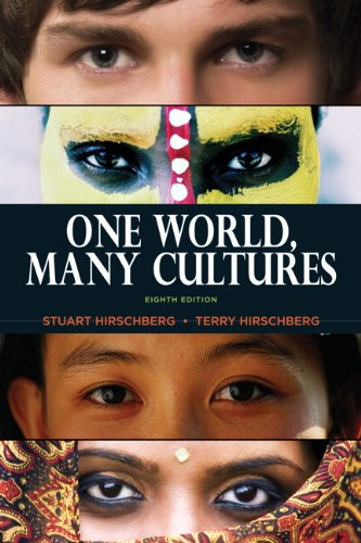 One World, Many Cultures  8th 2012 (Revised) edition cover