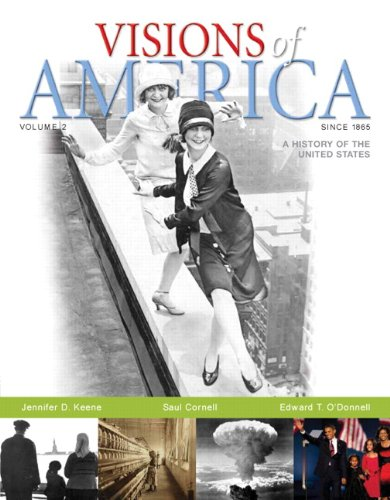 Visions of America A History of the United States  2010 edition cover