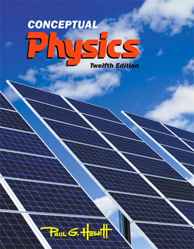 Conceptual Physics  12th 2015 9780321909107 Front Cover