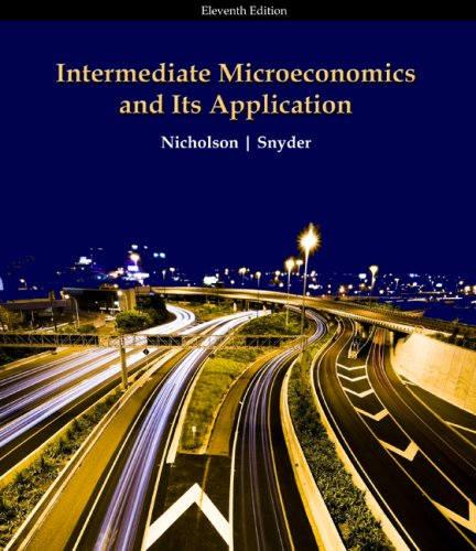 Intermediate Microeconomics and Its Application  11th 2010 edition cover
