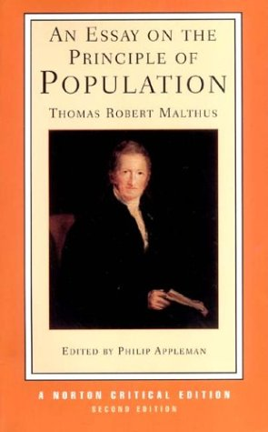 Essay on the Principle of Population Text, Sources and Background, Criticism 2nd 2003 edition cover