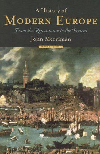 History of Modern Europe From the Renaissance to the Present 2nd 2004 edition cover