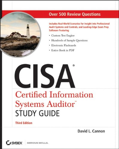 Cisa Certified Information Systems Auditor 3rd 2011 (Student Manual, Study Guide, etc.) edition cover