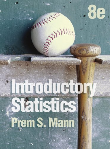 Introductory Statistics  8th 2013 edition cover