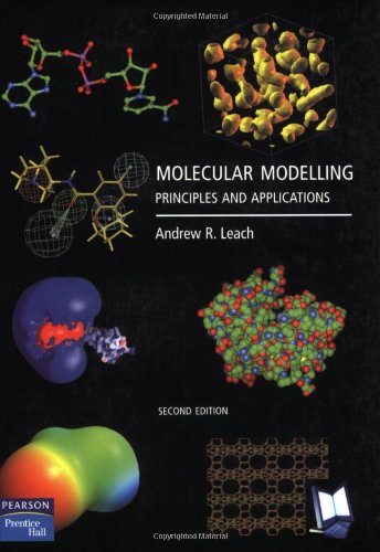 Molecular Modelling Principles and Applications 2nd 2001 (Revised) edition cover