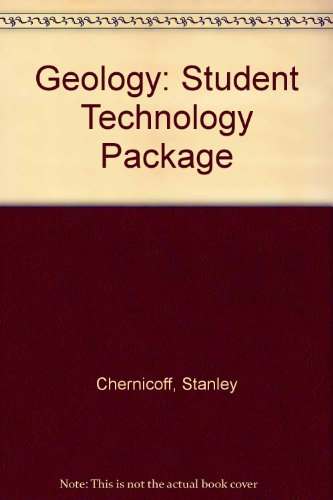 Geology : Student Technology Package 3rd 2002 9780618140107 Front Cover