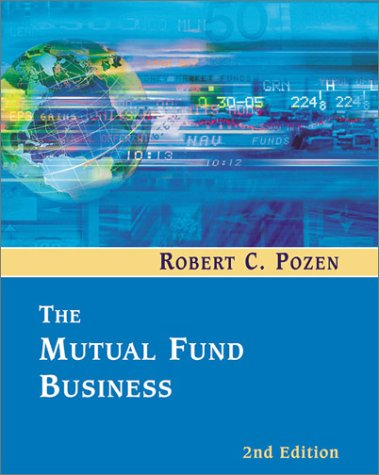 Mutual Fund Business  2nd 2002 9780618166107 Front Cover