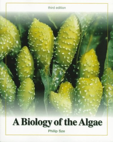 Biology of the Algae  3rd 1998 edition cover