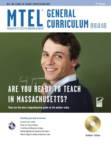 Massachusetts MTEL General Curriculum  2nd (Revised) edition cover