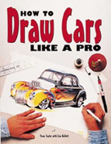 How to Draw Cars Like a Pro   1996 edition cover