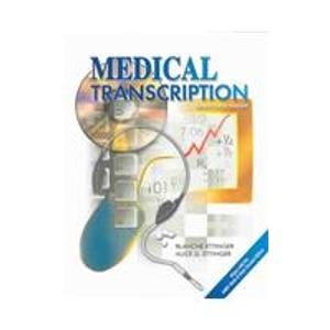 Medical Transcription 2nd 2004 9780763820107 Front Cover