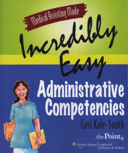 Administrative Competencies   2007 edition cover