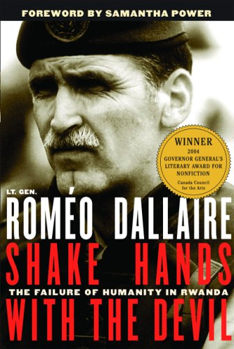 Shake Hands with the Devil The Failure of Humanity in Rwanda  2003 edition cover