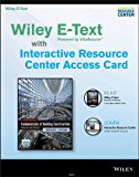 Fundamentals of Building Construction, Sixth Edition Wiley e-Text Card and Interactive Resource Center Access Card  2014 9781118821107 Front Cover