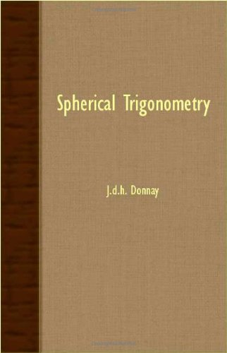 Spherical Trigonometry  N/A 9781406771107 Front Cover