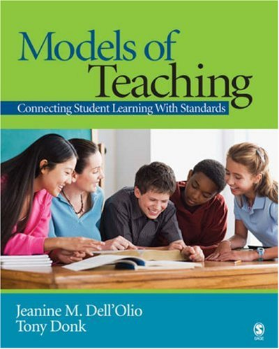 Models of Teaching Connecting Student Learning with Standards  2007 edition cover