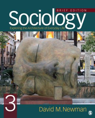 Sociology Exploring the Architecture of Everyday Life, Brief Edition 3rd 2013 edition cover