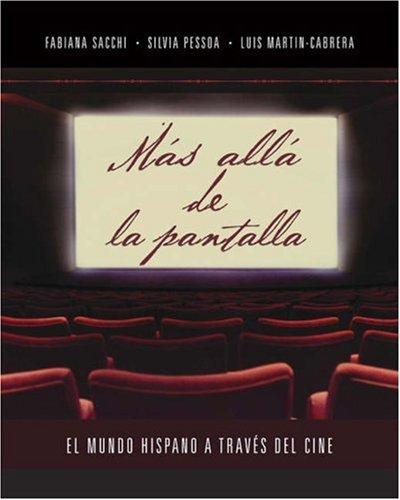 M�s All� de la Pantalla El Mundo Hispano a Traves del Cine  2006 edition cover