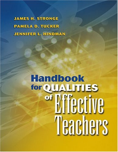 Handbook for Qualities of Effective Teachers   2004 edition cover