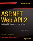 ASP. NET Web API 2: Building a REST Service from Start to Finish  2nd 2014 edition cover