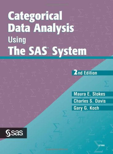 Categorical Data Analysis Using the SAS System, Second Edition  2nd 2000 edition cover