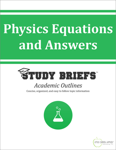 Physics Equations and Answers cover