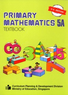 Primary Mathematics 5A Textbook N/A edition cover