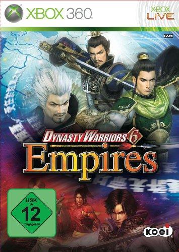 Dynasty Warriors 6: Empires Xbox 360 artwork