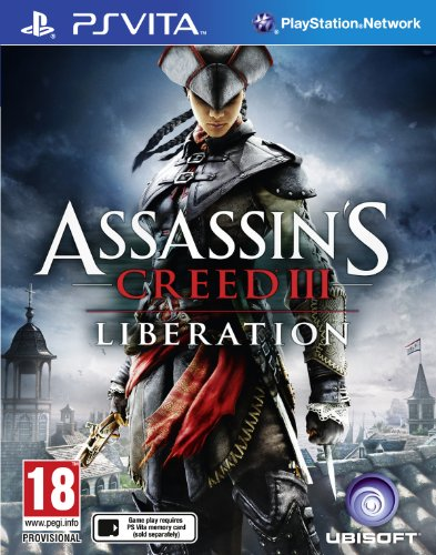 Assassin's Creed III: Liberation (PS Vita) PlayStation Vita artwork