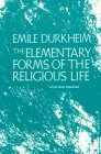 Elementary Forms of the Religious Life  N/A edition cover