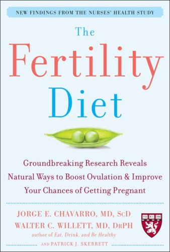Fertility Diet Groundbreaking Research Reveals Natural Ways to Boost Ovulation and Improve Your Chances of Getting Pregnant  2009 9780071627108 Front Cover