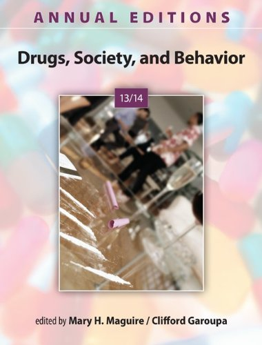 Annual Editions: Drugs, Society, and Behavior 13/14  28th 2014 edition cover