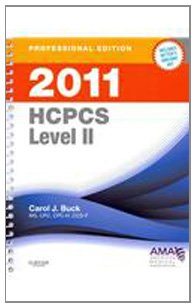 HCPCS 2011 Level II Professional Edition   2011 9780132768108 Front Cover
