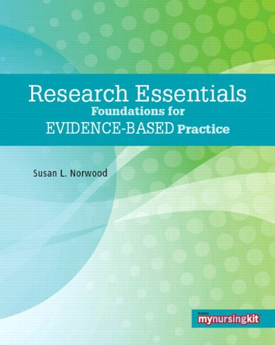 Research Essentials Foundations for Evidence-Based Practice  2010 edition cover
