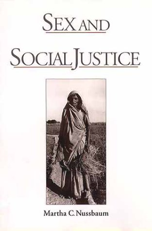 Sex and Social Justice   2000 edition cover