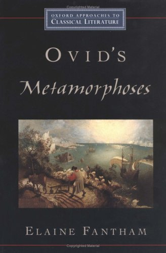 Ovid's Metamorphoses   2004 9780195154108 Front Cover