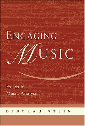 Engaging Music Essays in Music Analysis  2004 edition cover