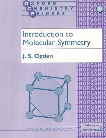 Introduction to Molecular Symmetry   2001 edition cover