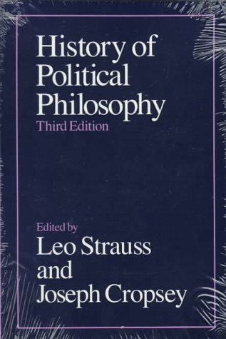 History of Political Philosophy  3rd 1987 edition cover