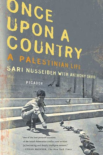 Once upon a Country A Palestinian Life N/A edition cover