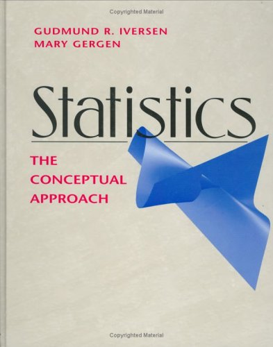Statistics The Conceptual Approach  1997 edition cover