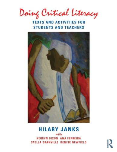 Doing Critical Literacy Texts and Activities for Students and Teachers  2013 edition cover
